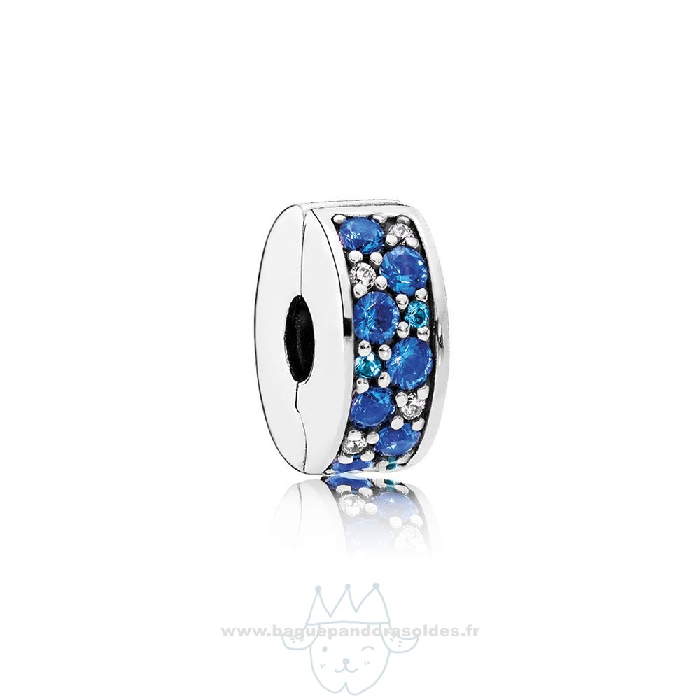 Tous Les Bijoux Pandora Pandora Charms De Couleur Mosaique Brillant Elegance Clip Multi Coloured Crystals Clear Cz Entier