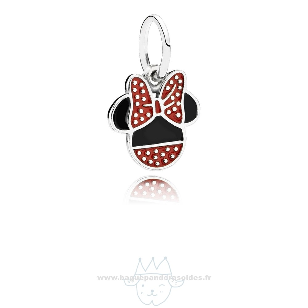 Tous Les Bijoux Pandora Disney Minnie Icon Dangle Charm Mixed Email Entier
